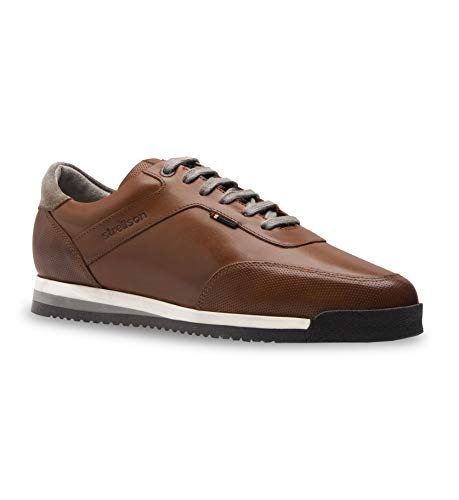 Strellson Herren Claude Sneaker LFU 3 Klassische Stiefel, Braun (Cognac 703), 46 EU