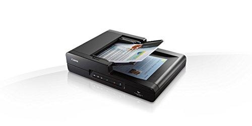 Canon imageFORMULA DR-F120–Scanner (600x 600DPI, Flachbett und ADF, Schwarz, CMOS CIS, RGB LED, 800Seiten)