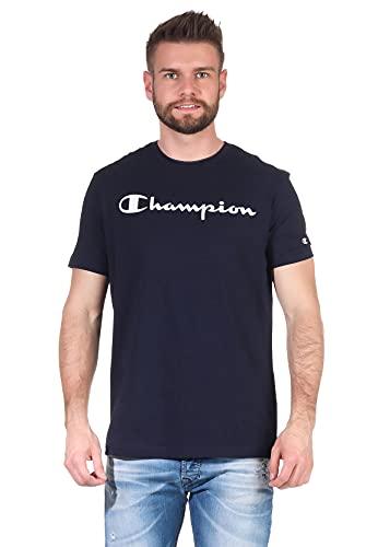 Champion Herren T-Shirt 214142 BS501 NNY Dunkelblau, Größe:XL