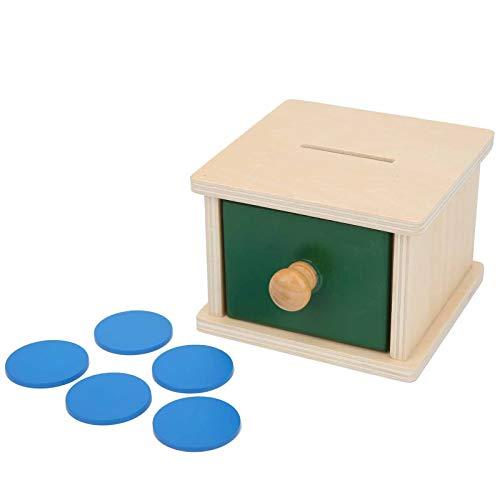 Cikonielf Caja de permanencia Juguetes para niños Juguemos Juguetes para niños pequeños Caja de imbucare para bebés Juguete Niños Niñas Juguetes educativos(#1)