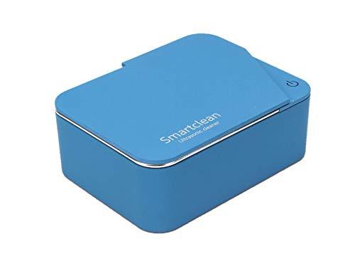 Smartclean 超音波洗浄機 家庭用 ジュエリー アクセサリー 洗浄器 小型タイプ (ブルー)