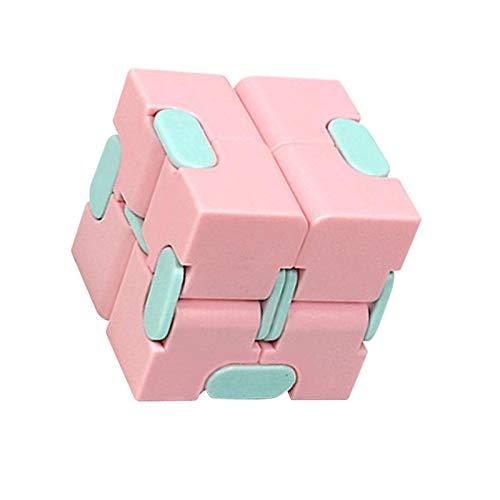 Juguete de cubo infinito, el más nuevo y duradero rompecabezas de alivio del estrés Sensorial Fidget Magic Cube para autismo, adultos y niños, matar el tiempo, anti-ansiedad, mejorar la concentración