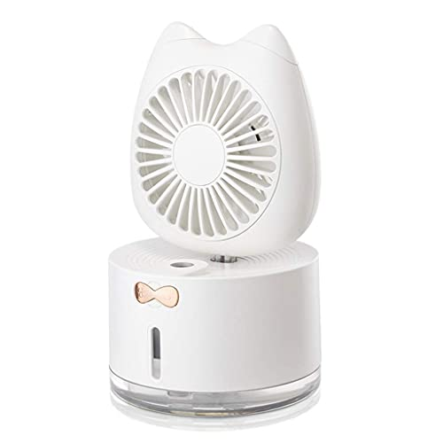 Climatizzatore Portatile Radiatori evaporativi USB Mini ventilatore portatile Ultra-silenzioso, adatto per ufficio Desktop Humidificatore di raffreddamento e aria condizionata Ventola (Colore: B) (Col