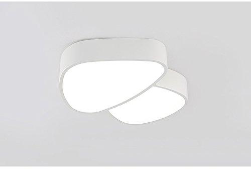 Lumières de champignons lampes pour enfants créatives lampadaires chauds à la lumière conduit des garcons et des plafonniers de jardin maternelle ( Couleur : Blanc-Blanc )