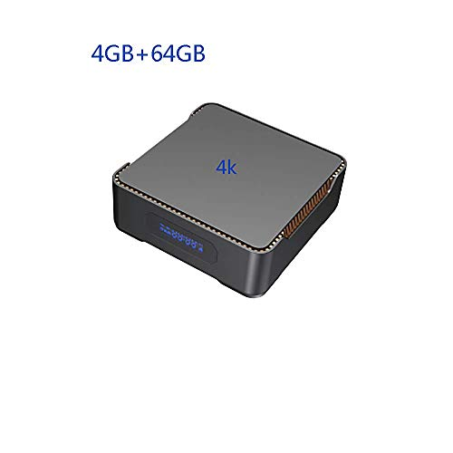 Lzz Android TV Box A95X MAX Amlogic S905X2 Quad-Core 4GB RAM 64GB ROM HDMI 4K HD 2.4Ghz / 5Gh WiFi Bluetooth 5.0 USB 3.0 decodificador Inteligente soporta grabación de Videojuegos