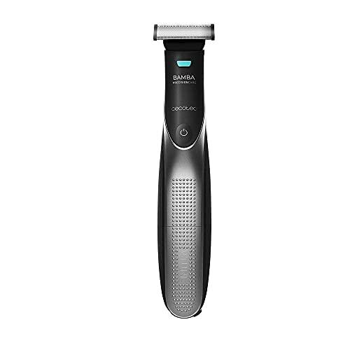 Cecotec 04230 Recortador de barba multifunción Bamba PrecisionCare 7500 Power Blade, cuchillas de acero, sistema Click&Go