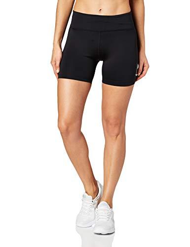 Nike Damen Fast Tights, Black/Reflective Silver, S