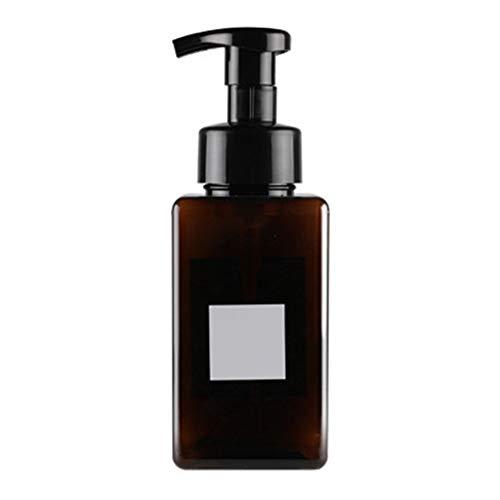 Dispensador de jabón líquido de plástico para botellas de loción y champú,...