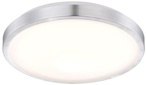 S`Luce LED Deckenleuchte Robyn chrom 35 x 35 x 10 cm