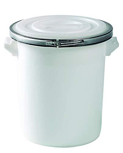 Mobil Plastic bidone in plastica per alimenti da 75 litri con coperchio chiusura ad anello