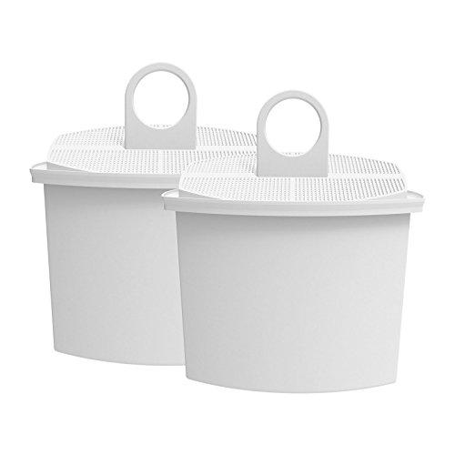 AquaCrest AQK-12 Kompatibler Kaffeemaschinen Wasserfilter Ersatz für Braun Brita KWF2; Aroma Select KF130, KF140, KF145, KF147, KF150, KF155, KF160, Aroma Passion KF550, KF560, KFT150, KK148 (2)