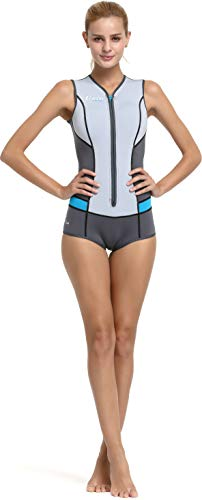 Cressi Idra Swimsuit 2mm badpak High Stretch neopreen kostuum voor dames