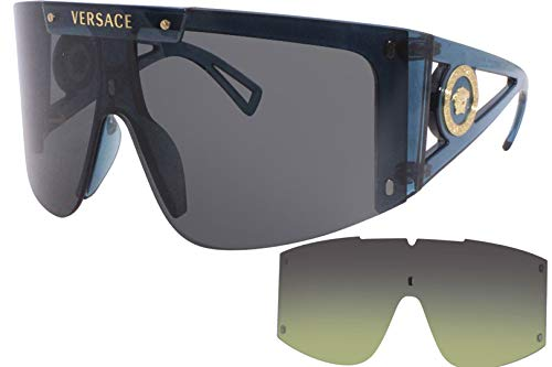 Versace Gafas de sol VE4393 533587 Gafas de sol Mujer color Azul gris tamaño de lente 46 mm
