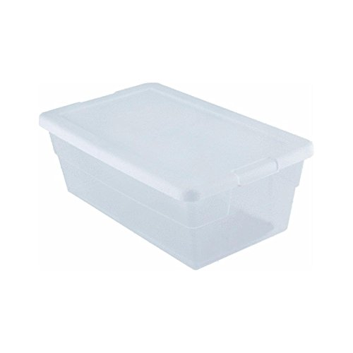 Sterilite Storage Box 13.5 X 8.3 X 4.8, 6 Qt. Clear - Pack of 2