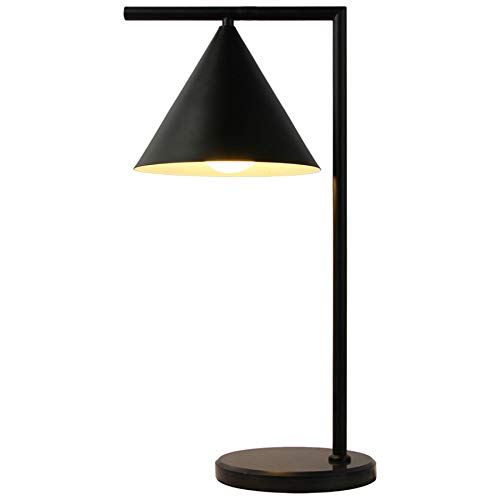 Luz De Nocturna LED La lámpara de mesa nórdica de lectura puede girar la luz de hierro forjadopara el dormitorio del estudio, la decoración de la oficina, la luz del aparador del escritorio