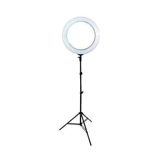 Iluminador de Led Ring Light 18 80w 48cm Diâmetro e Tripé de Iluminação 2m para Foto e Vídeo
