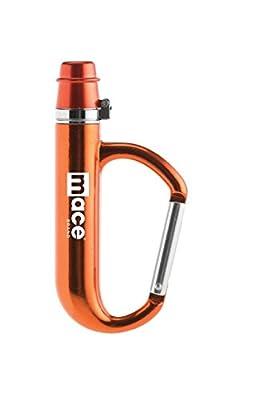 Mace Brand Police Strength Pepper Spray Orange Carabiner 80414
