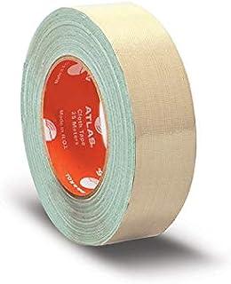 اطلس شريط لاصق قماشي، 38 ملم - بيج