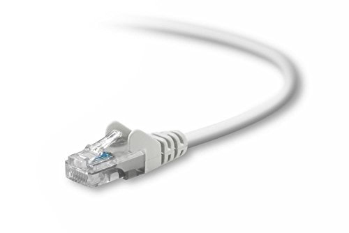 Belkin 20-Foot CAT5e Snagless Patch Cable (White)