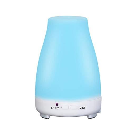 xdrfxrghjku Humidificador 200Ml Máquina De Aromaterapia Eléctrica Ultrasonica Humidificador De Aire Máquina De Aromaterapia Aceite Esencial 7 Noche Luz Oficina En Casa 200Ml Azul