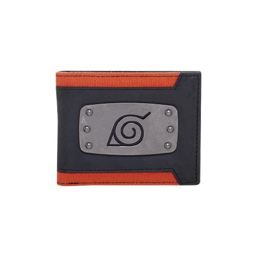 Naruto Hidden Leaf Village Badge Bi-Fold Wallet