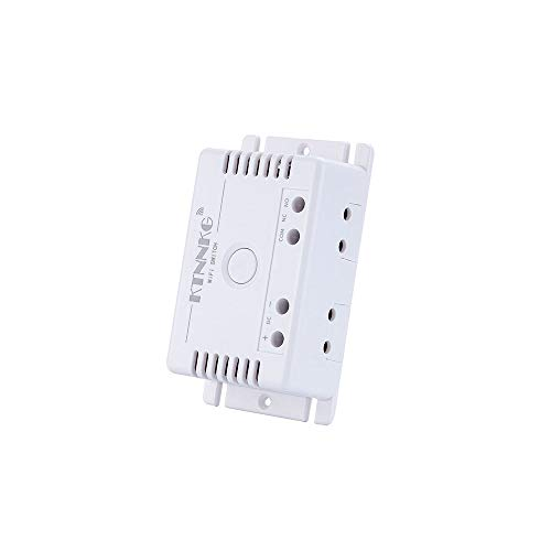 ILS - DC7-36V Módulo de automatización interruptor inteligente WiFi Smart Life/APP remoto control trabaja con Alexa Google Home
