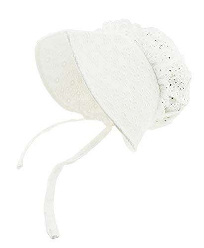 Glamour Girlz Bonnet brodé pour bébé fille garçon 3-12 mois (Blanc)