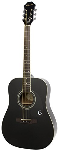 Epiphone DR-100 Acoustic Guitar (Ebony)