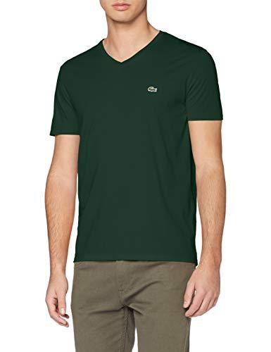 Lacoste TH6710 T-Shirt, Vert, 5XL Uomo