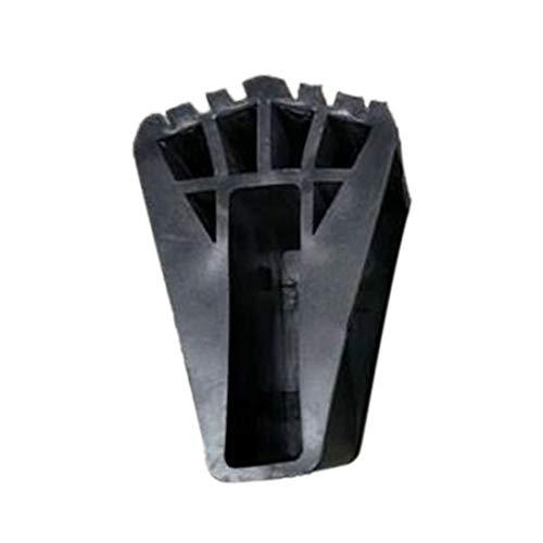 vbncvbfghfgh Leiter Runde Fuß Abdeckung Exquisite Durable Multifunktions-Klappleiter fächerförmige Fuß Abdeckung Anti-Rutsch-Matte
