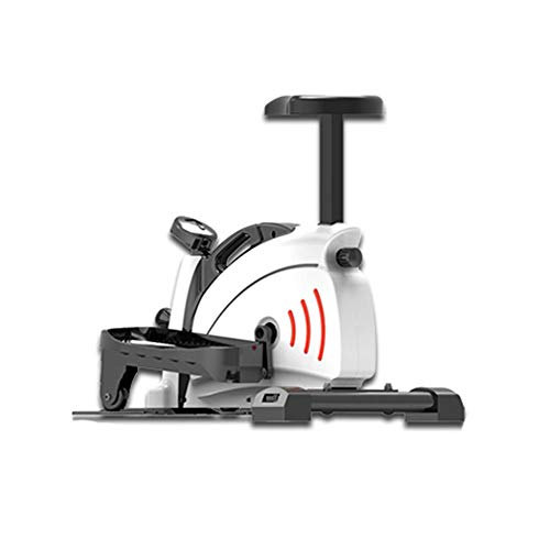 T-Day Fitness Machine Mini Elliptical Cross Trainer,Resistance Exercise,LCD Home Gym Workout Equipment,Unisex Home Gym (Color : A)