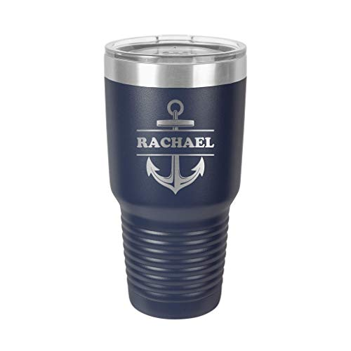 Personalized Tumbler   Boat Cup   Nautical Gift Idea   Gifts for Boaters   Beach Tumbler   Travel Mug   Yacht Sailboat   Gift for Him or Her   Vacation Swag