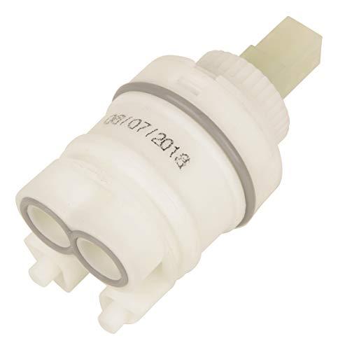 Sanitop-Wingenroth Keramikkartusche Nr. 23   langlebige Keramikdichtscheiben   Durchmesser: 35 mm   Ersatzkartusche für aquaSu-Einhebelmischer Xenia 78320 0   für Mischbatterie   64029 9