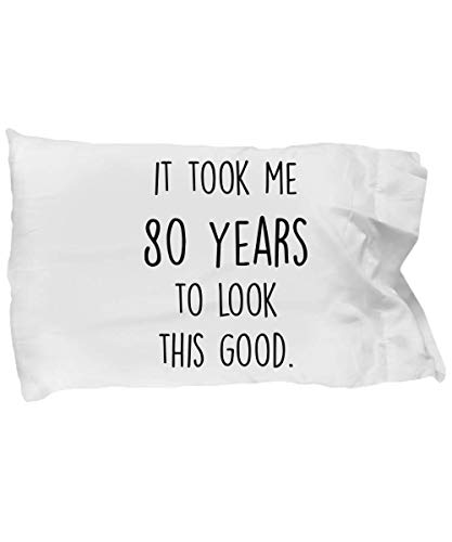 Funny 80th Birthday Gift for Women - 80 Years To Look This Good -...