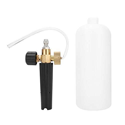 Outbit Auto-Reinigungswerkzeug - 1L 1/4in-Autowaschschaum-Sprühflasche Hochdruckschaum-Waschpumpe Kanonenreinigungswerkzeug