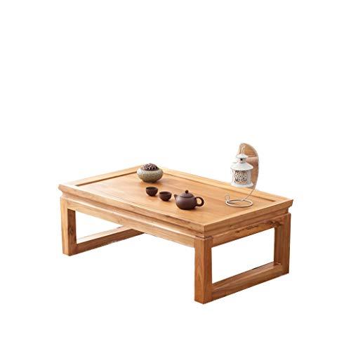 KangJZ-Tables Mesa Auxiliar de sofá Multifuncional Mesita, de Madera Maciza Rectangular Mesa for sofá alféizar Interior Dormitorio Mesita de Ocio Mesa de té Grande (Color : A, Size : 60 * 40 * 25CM)