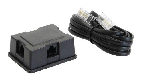Preisvergleich Produktbild InLine 69933A ISDN Verteiler Box,  3-fach,  inkl. Kabel,  3m,  mit Widerstand
