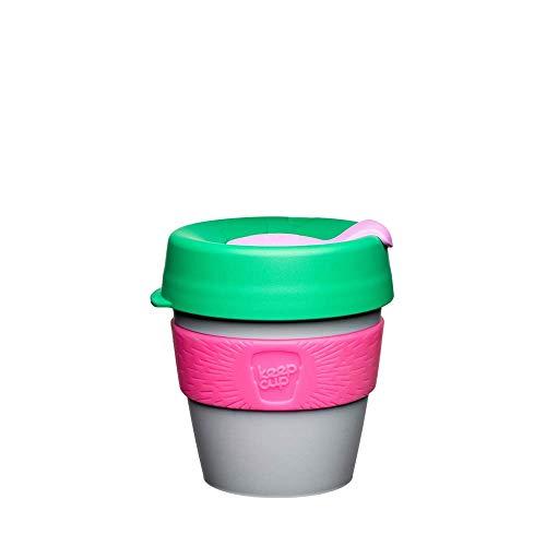 KeepCup Kaffeebecher, wiederverwendbar, 227 ml Leichtes, BPA-freies Kunststoff und rutschfestes Band. 227 ml, klein