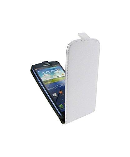 Colorfone-Custodia a Flip Prime per Samsung Galaxy S3, Neoprene, Bianco