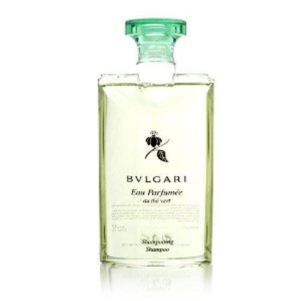 暗黙規模ゴールドBvlgari Eau Parfumee au the vert (ブルガリ オー パフュ-メ オウ ザ バート / グリーン ティー) 2.5 oz (75ml) シャンプー
