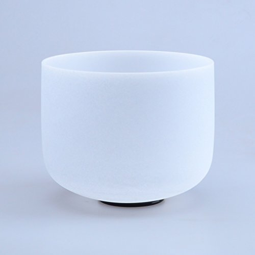 "440HZ 8"" D Sacral Chakra Quartz Crystal Singing Bowl"