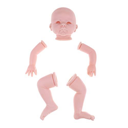 MagiDeal 22 Inch Kits Reborn sin Pintar Recién Nacido Doll con Cabeza...