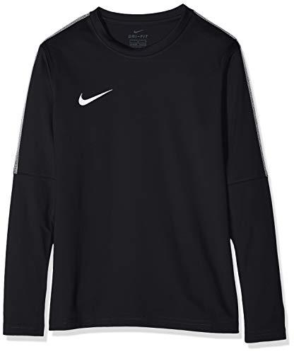 Nike Unisex jungen Dry Park 18 Crew langarm T-shirt, Schwarz (Black/White/010), Gr. M