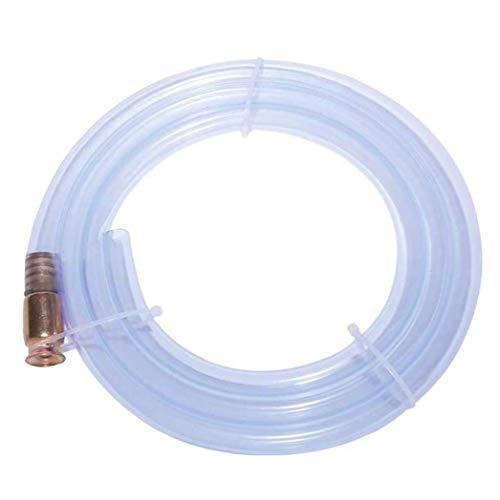 xiaocheng Transferencia sifón Bomba de Manguera de Gas Auto cebado de Combustible del Tubo de Agua Multiuso con 0.5inch la válvula Kit de Trabajo de Bricolaje Industrial