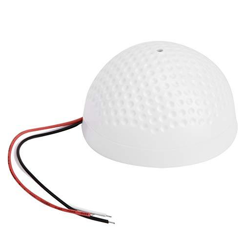 Zetiling Hoog gevoelige microfoon-audio-opname-geluidsmonitor, kap golfvorm CCTV-microfoon-audio-opname-geluidsmonitor-apparaat