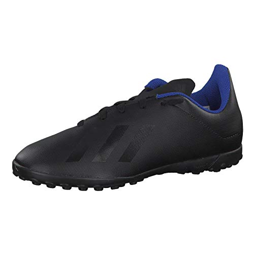 adidas Unisex-Kinder X 18.4 Tf J Fußballschuhe, Mehrfarbig (Negbás/Negbás/Azufue 000), 29 EU