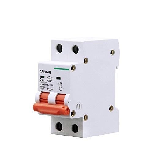 Fotovoltaico Dc Solar Mini Interruptor De Circuito Interruptor De Aire 500V 1000V 2P