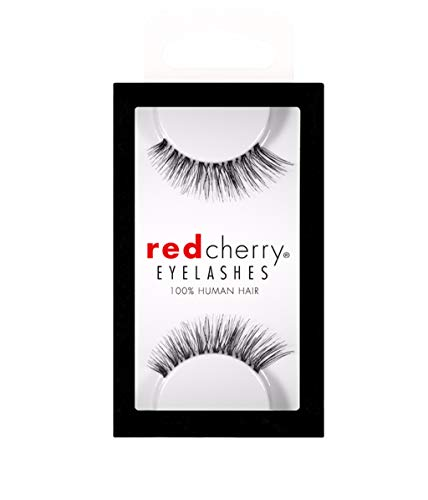 Red Cherry - Falsche Wimpern Nude Onyx - Echthaar