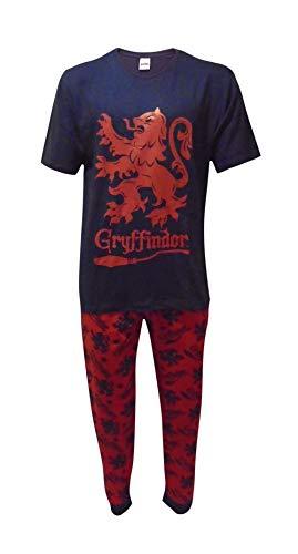 Juego de Pijama para Hombre Gryffindor Potter Negro M