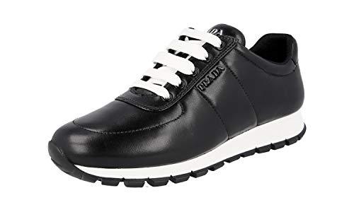 Prada Damen Schwarz Leder Sneaker 1E546L 39 EU